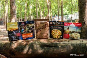 best freeze-dried food, mre star, alpine aire, mountain house, peak refuel, wise company
